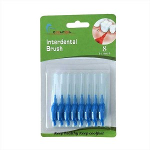 Portable Round Handle Interdental Brushes