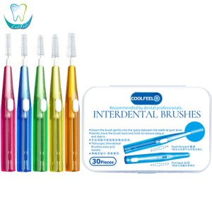 Push Type DUPONT Nylon Interdental Brushes