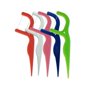 Comfortable Grip CE Approved Dental Floss Picks
