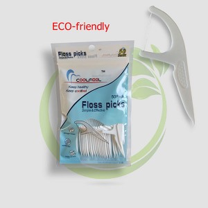 Easy Sliding Dental Floss Picks